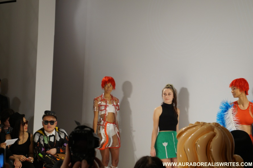 london fashion week CASSANDRA VERITY GREEN