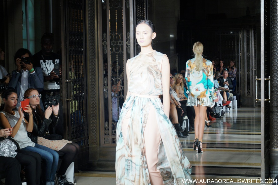 Bernard Chandran london fashion week