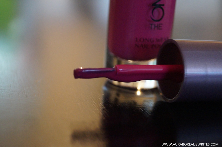 oriflame nail polish beauty blog 2